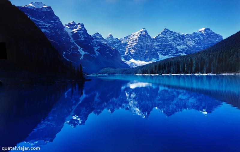 Moraine Lake - Canadá - América do Norte