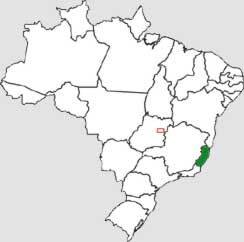 Mapa do Esp�rito Santo